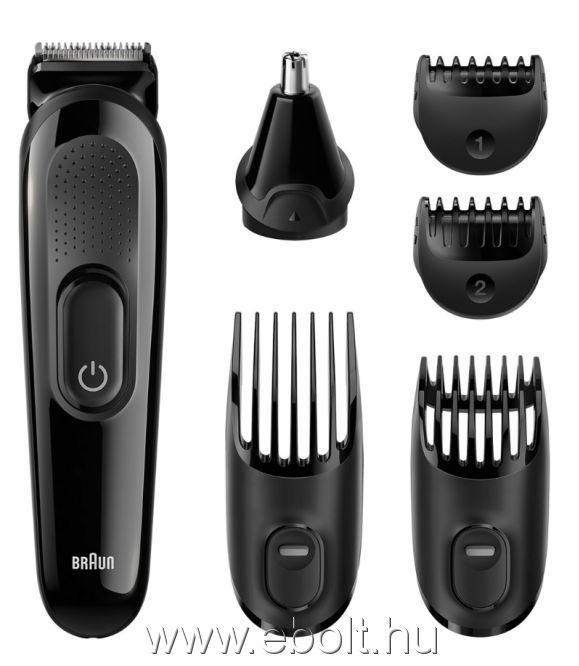 Braun MGK3020 6az1-ben arcszőrzet- és hajvágó készlet - eBolt áruház 9e486b2fb8
