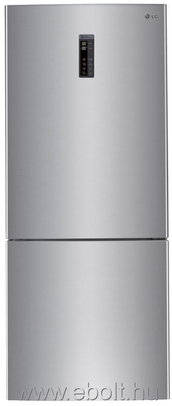 f628c07c98 Lg GBB548PZCZH alulfagyasztós hűtőszekrény, Hamvas ezüst - eBolt áruház
