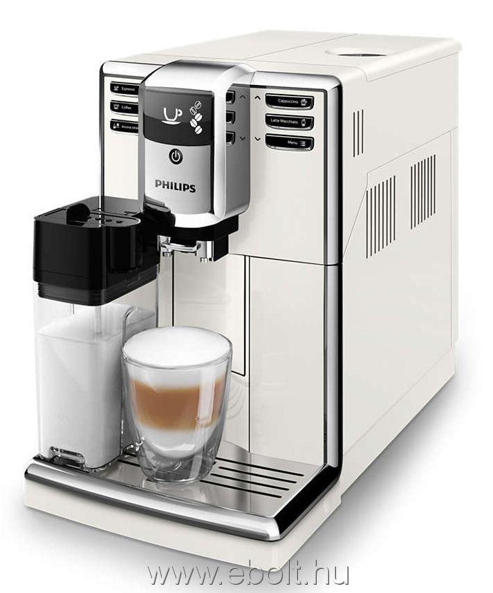 Automata kávéfőző, VeroCup, 15 bar, OneTouch 5 program, szemes kávé tároló (250g), tejhabosító funkció, csészemelegítő, LCD display, 2 csésze opció,