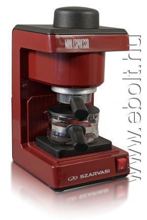 Szarvasi SZV 612 kávéfőző, piros eBolt áruház