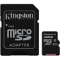 Kingston Canvas Selet 128GB microSDXC kártya + adapter